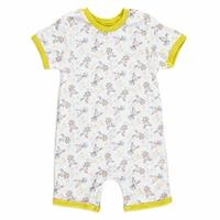 Summer Baby Boy My Friend Short Sleeve Crew-Neck Jumpsuit