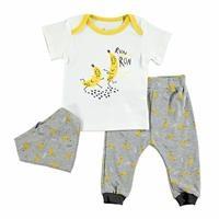 Summer Baby Boy Funny Bananas T-shirt 3 pcs