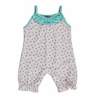 Summer Baby Girl Strawberry Supreme Jumpsuit