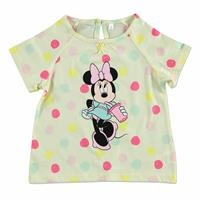 Summer Baby Girl Minnie Mouse Short Sleeve T-shirt