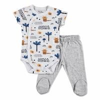 Summer Baby Boy Alf Supreme Bodysuits Pant 2 pcs Set