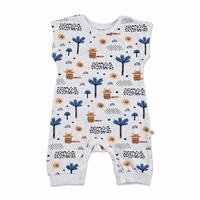 Summer Baby Boy Alf Supreme Short Sleeve Romper
