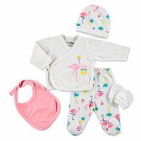 Flamingo Newborn Hospital Pack 5 pcs