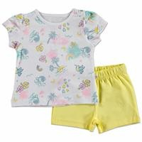 Summer Baby Girl Spring T-shirt Short 2 pcs Set