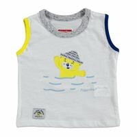 Summer Baby Boy Daddy and I Sleeveless Top