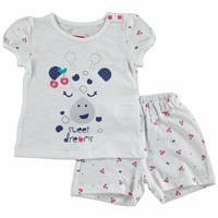 Summer Baby Girl Sweet Cherry T-shirt Short Set