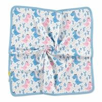 Summer Baby Boy Dino Interlock Multipurpose Baby Blanket