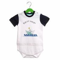 Summer Baby Boy Sailor Bodysuit