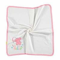 Little Elephant Multipurpose Interlock Baby Blanket