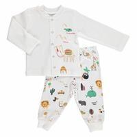 Summer Baby Boy Cute Camel Cotton Pyjama Set