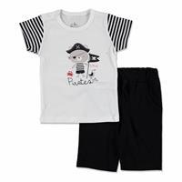 Little Pirate Baby Boy Supreme T-shirt Short 2 pcs Set