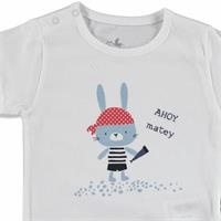 Erkek Bebek Küçük Korsan Süprem Kısa Kol 2li Tshirt-Şort