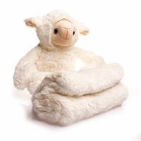 Sheep Sleeping Friend and Plush Blanket