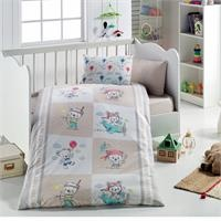 Baby Teddy Bear Patterned Duvet Cover Set