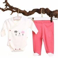 Pamela Baby Bodysuit Trousers Set