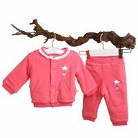 Kız Bebek Pamela Welsoft Sweatshirt Tek Alt 2li Takım