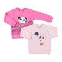 Printed Baby Long Sleeve Sweatshirt 2 Pack