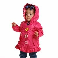 Baby Snaps Water Repellent Children Raincoat
