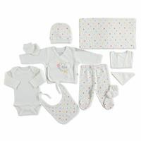 Spotty Newborn Hospital Pack 10 pcs