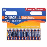 Ultra Premium Alkaline AAA Battery 9+3 Pieces