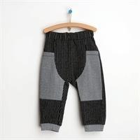 Basic Bebek Pamuklu Pantolon - Tekli