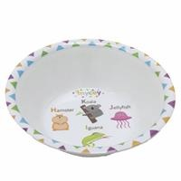 Cute Patterned Baby Covered Food Bowl 1 pcs