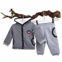 Baby Boy MartinWelsoft Hoodie Sweatshirt Trousers Set