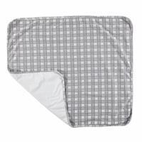 Baby Organic Plaid Pattern Suprem Fabric Blanket