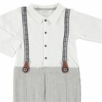 Baby Rope Detail Footless Romper