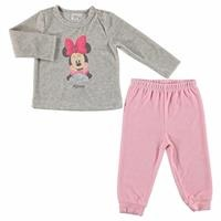 Minnie Mouse Licensed Velvet Tracksuit Set