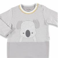 Koala Baby Snaps Collar Footed Romper