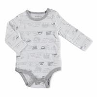 Baby Printed Long Sleeve Bodysuit