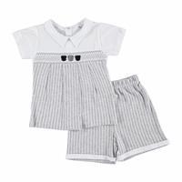 Baby Boy Rhythm Polo NeckBoy Tshirt Short Set