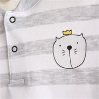 Cat Baby Short Sleeve Bodysuit
