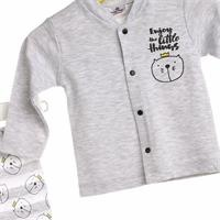 Baby Boy Cat Snaps Pyjamas Set