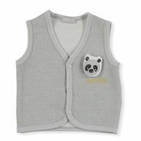 Panda Pamuklu Tek Yelek