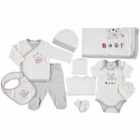 Sevimli Ayıcık Yenidoğan Bebek Hastane Çıkışı 10lu