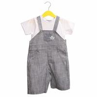 Summer Baby Boy Sailor Dungarees T-shirt Set