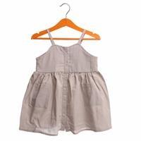 Yaz Kız Bebek Bebek Çıtır Çiçek İp Askılı Elbise