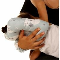 Mini Nursing Pillow Sky Patterned Cotton 0 Month+