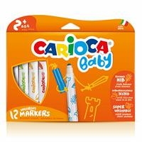 Jumbo Bebek Süper Yıkanabilir Keçeli Boya Kalemi 12li