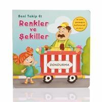 Baby Development Books - Beni Takip Et Renkler ve Şekiller (Turkish)