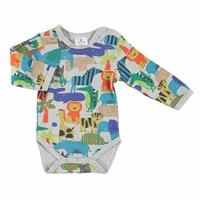 Winter Baby Boy Cute Animals Emprime Long Sleeve Bodysuit