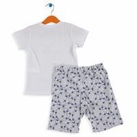 Baby Boy Plane Printed Short SleevePyjamas