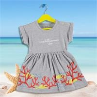 Fun Summer Baby Girl Dress Bodysuit