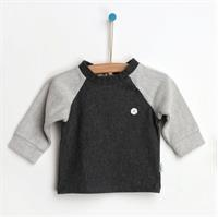 Light-Dark Gray Futter Sweatshirt