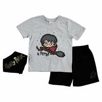 Summer Baby Boy Harry Potter T-shirt Short 3 pcs Set