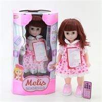 Turkish Speaking Remote Control Walking 47 cm Melis Baby