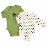 Printed Baby 2 Pack Long Sleeve Bodysuit