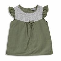 Summer Baby Vintage Crew Neck Shirt Short Set